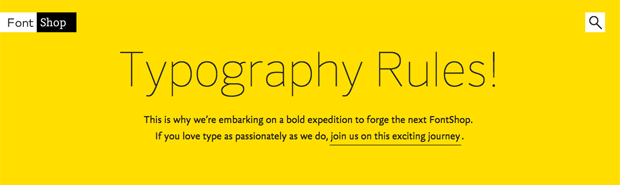 FontShop запустил новый проект. Изображение № 1.