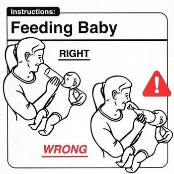 Инструкция поэксплуатации младенца. Изображение № 4.