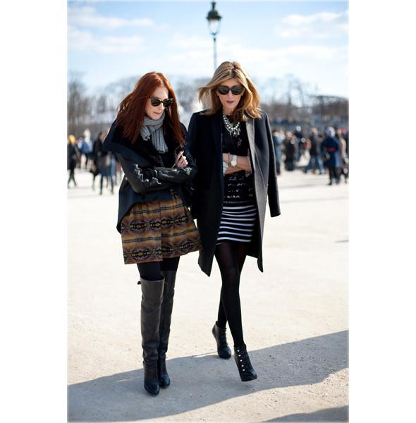 Луки с Недели моды в Париже. Изображение № 20.
