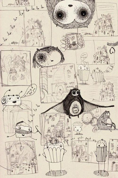 Изображение 51. Сказки на ночь от Лизы Эванс (Lisa Evans).. Изображение № 64.