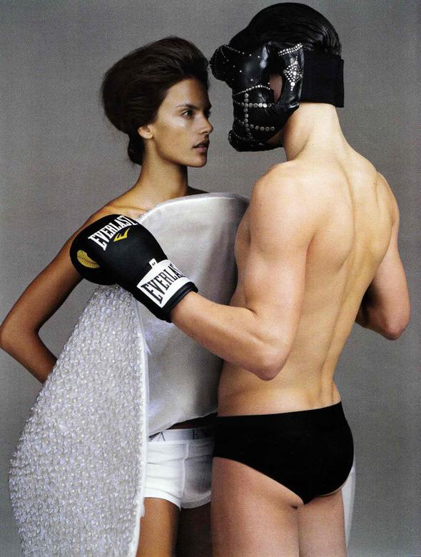 Быстрее, выше, сильнее: Модные съемки, вдохновленные спортом. Изображение №116.