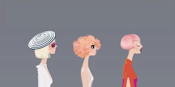 Иллюстрации образов Lady Gaga от Adrian Valencia. Изображение № 13.