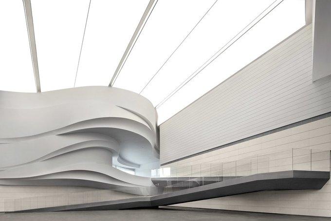 Архитектура дня: музей в Китае сбелым «слоёным» фасадом. Изображение № 12.
