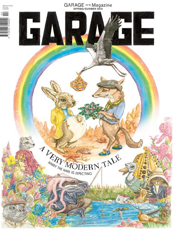 Обложки: Garage, The Last и Vogue. Изображение № 1.