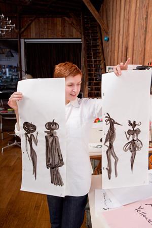 Картинки француской художницы дляVeuve Clicquot. Изображение № 10.