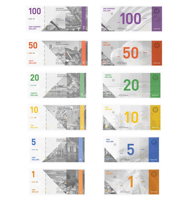 Студент представил редизайн банкнот американского доллара. Изображение № 7.