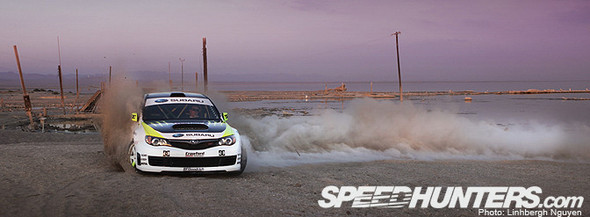 KEN BLOCK, THE SUBARU, & THE SEA. Изображение № 6.