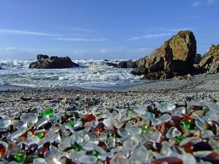 Стеклянный пляж в Калифорнии. Изображение № 8.