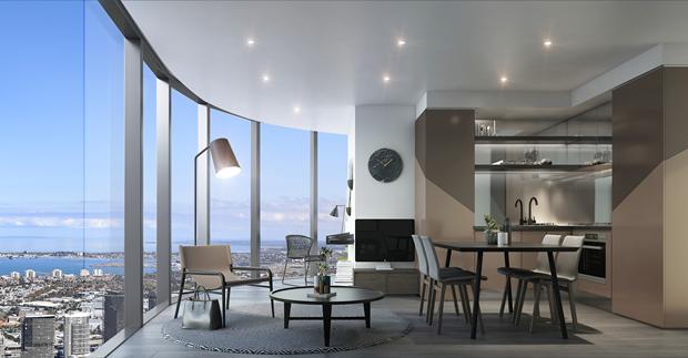 Бюро представило вдохновлённый клипом Бейонсе небоскрёб. Изображение № 13.