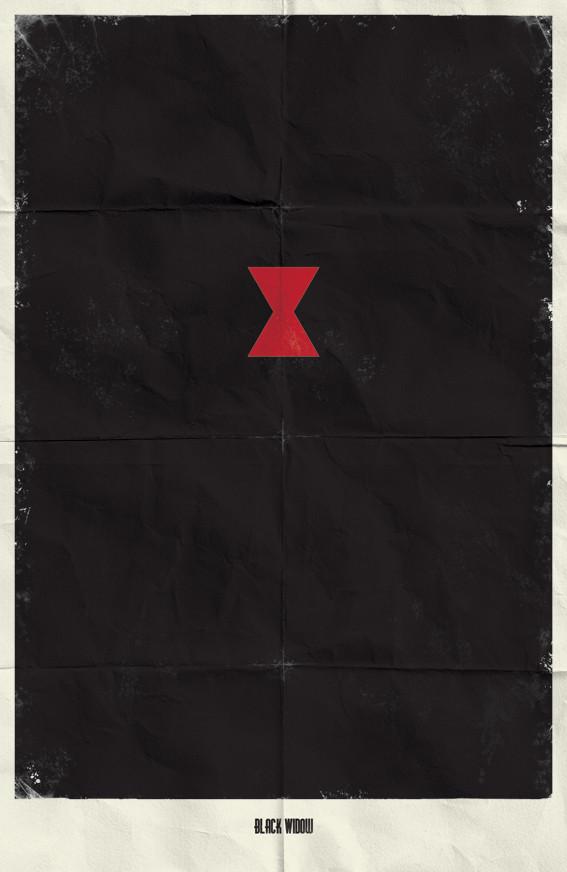 Минималистичные постеры для Marvel Comics. Изображение № 17.