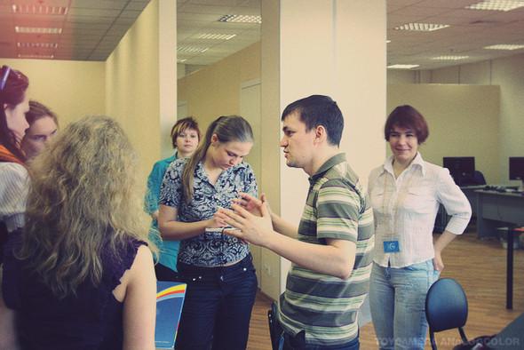 Изображение 12. Яндекс и e-Legion открыли свои двери для школьников.. Изображение № 11.