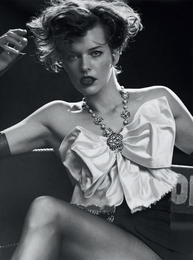 Вышли новые съемки Vogue, i-D, 10 и Interview. Изображение № 56.
