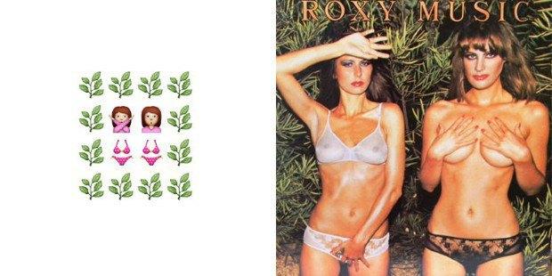 Музыкант воссоздал обложки классических альбомов из Emoji. Изображение № 5.