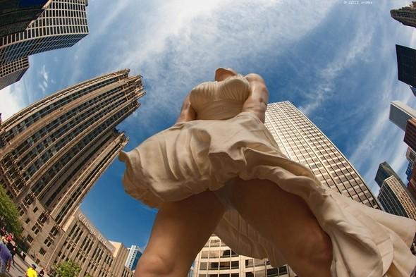 Памятник Мэрилин Монро в Чикаго. Изображение № 9.
