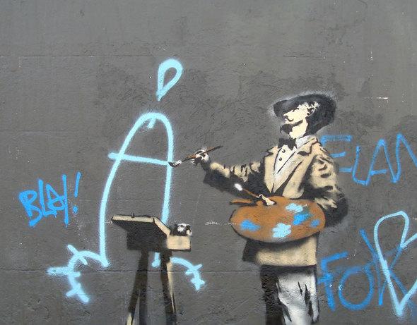 Изображение 32. Banksy (уличная мышь – герой).. Изображение № 32.