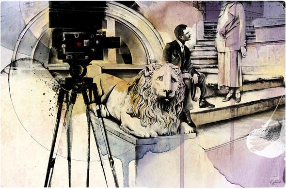 Иллюстрации для журнала и сайта «Сноб». Изображение № 3.