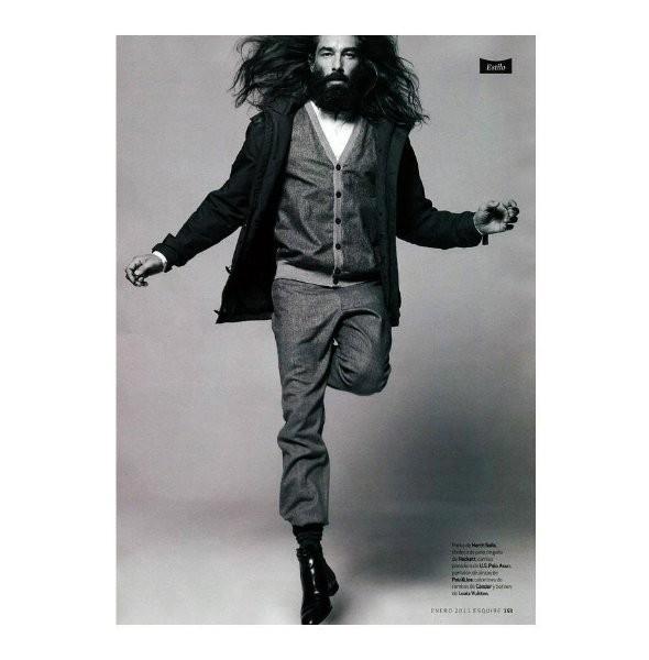 Изображение 13. Новые мужские съемки: Vogue Hommes, GQ и другие.. Изображение № 23.