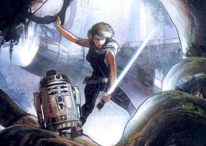 Мара Джейл Скайуокер — один из персонажей расширенной вселенной «Звёздных войн». Изображение № 1.