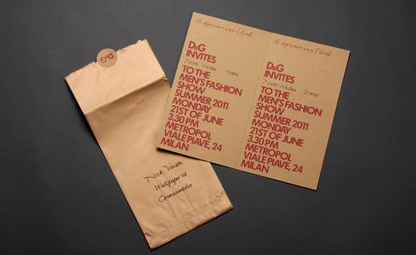 Изображение 4. Men's S/S 2011 fashion show invitations.. Изображение № 4.