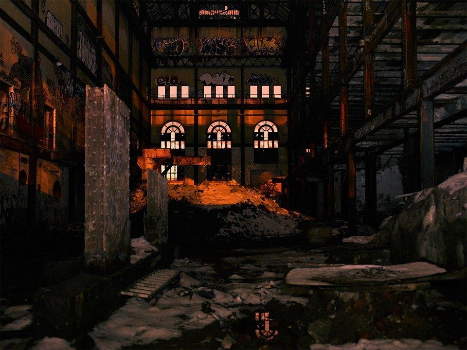Фабрики из хоррора: ночная индустриальная фотография. Изображение № 19.
