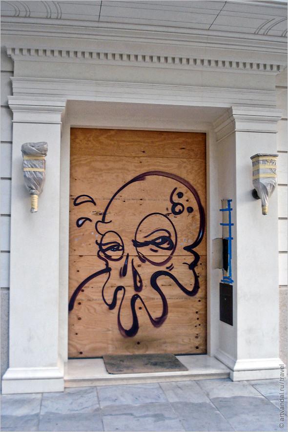 Стрит-арт и граффити Афин, Греция. Часть 2. Изображение № 16.