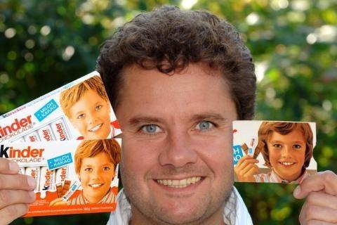Лицо Kinder-Schokolade. Изображение № 1.