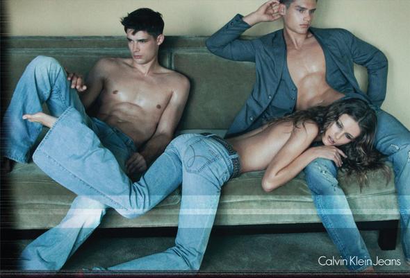 Запрещенная реклама Calvin Klein Jeans. Изображение № 2.