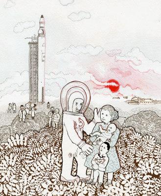 Израильские ине очень иллюстрации ииллюстраторы. Изображение № 31.