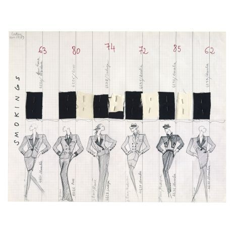 Yves Saint-Laurent, l'uvre Intégral, 1962-2002. Изображение № 4.