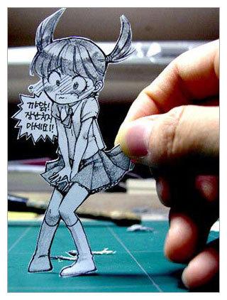 Фотоработы аниме избумаги. Изображение № 5.