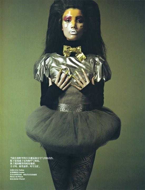 Magical illusion (China Harper's Bazaar, November 2008). Изображение № 11.