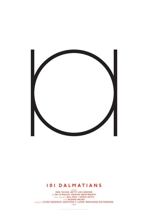 Дизайнер переделал постеры кинохитов в минималистском стиле. Изображение № 13.