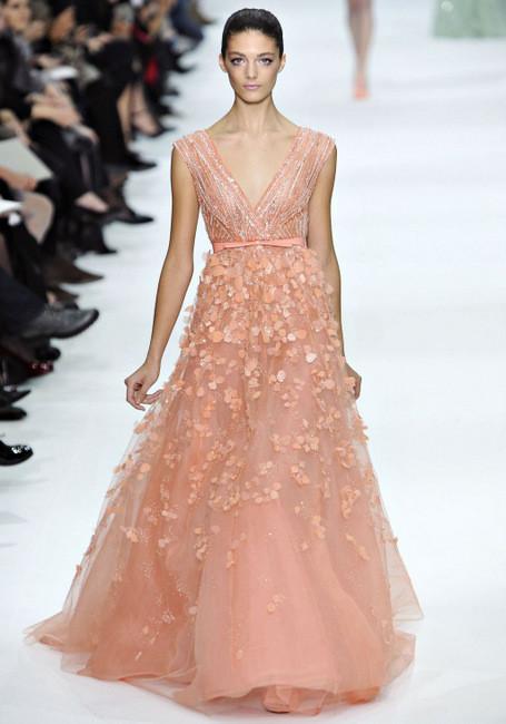 Elie Saab Spring 2012 Couture. Изображение № 7.