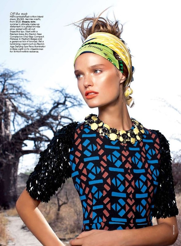Съемка: Katie Fogarty 4 Vogue Australia December 2011. Изображение № 2.