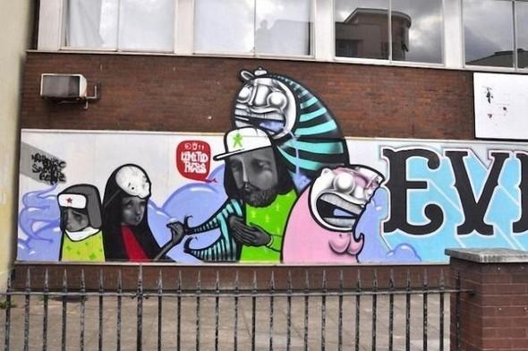 Изображение 20. Бристоль. Художественное граффити.. Изображение № 22.