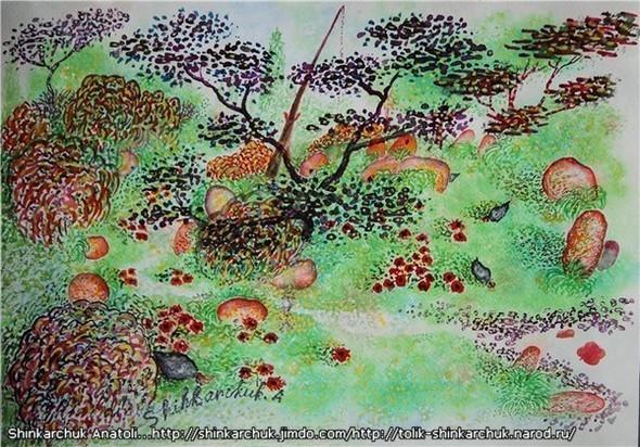 Shinkarchuk Anatoly watercolor and Japan Шинкарчук Анатолий акварель и Япония. Изображение № 18.