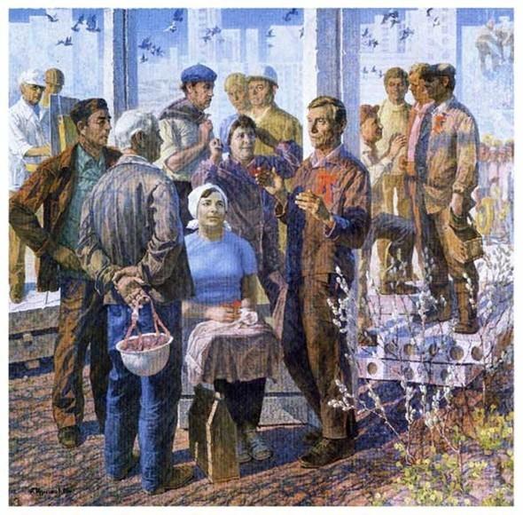 Скончался российский художник Андрей Курнаков. Изображение № 7.