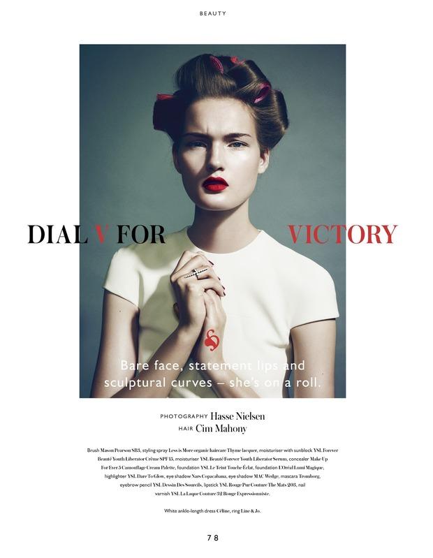 Вышли новые съемки из Bon, Flair, Vogue и других журналов. Изображение № 2.