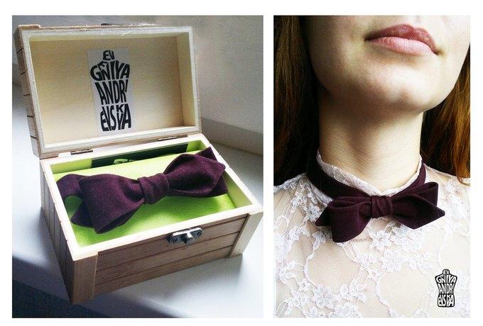 Фееричные галстуки - бабочки от дизайнера Евгении Андриевской.. Изображение №6.
