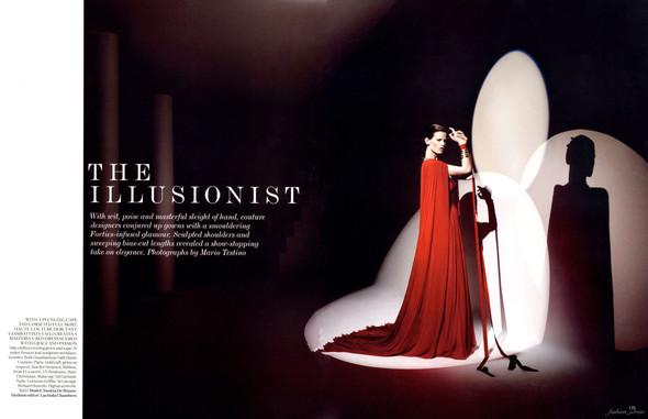 Съёмка: Саския де Брау в объективе Марио Тестино. Изображение № 1.