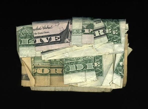 Скрытые сообщения на долларовых купюрах. Изображение № 1.