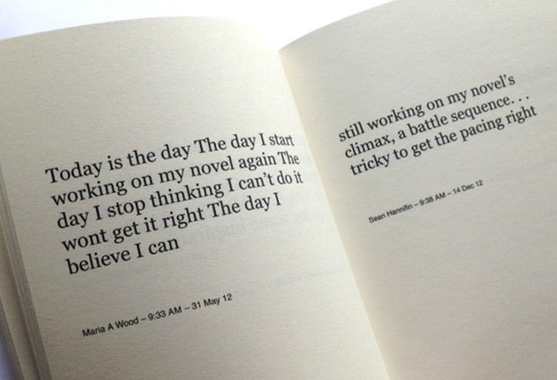Цифровой художник «написал» роман из твитов о работе над книгой . Изображение № 1.