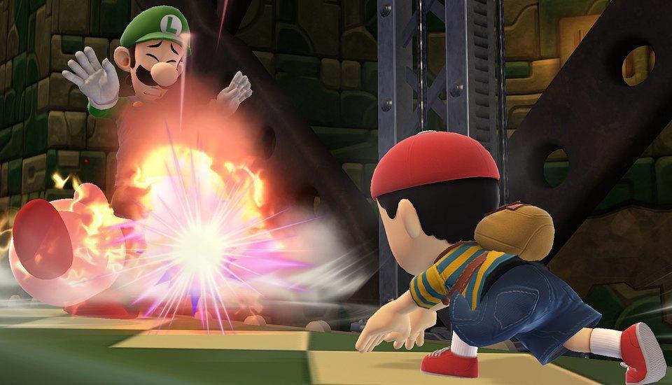 Пять взрослых мужчин устраивают драку с Пикачу, Марио и Соником. Изображение № 24.