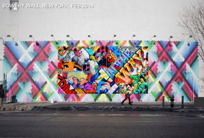 Историю граффити на одной стене восстановили с помощью Google Street View . Изображение № 2.