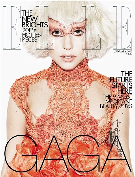 Обложки: Леди Гага для Vanity Fair и Elle. Изображение № 2.