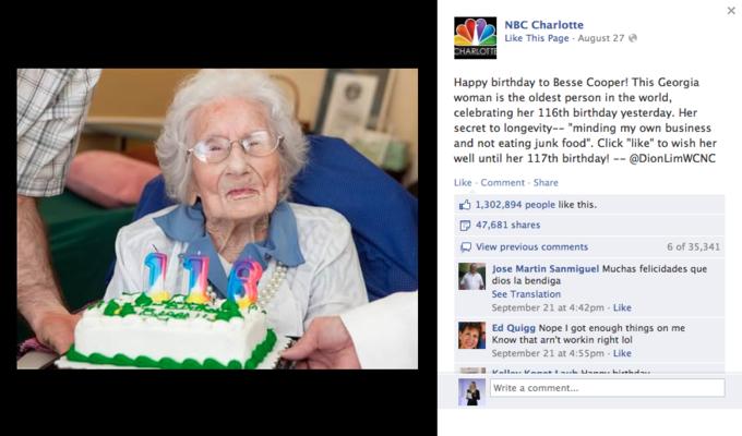 Названы самые популярные фото года в «Фейсбуке». Изображение №9.