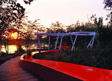 RedRibbon великая китайская скамья. Изображение № 9.