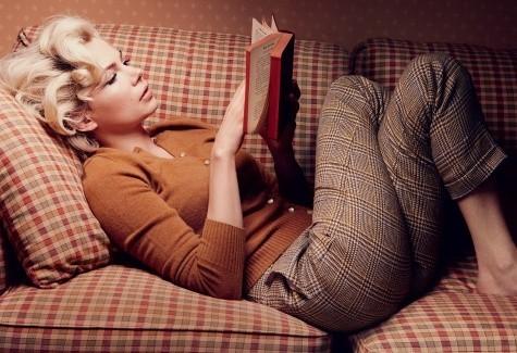 Съёмка: Мишель Уильямс для Vogue. Изображение № 1.