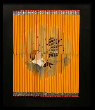 Карандаши какхолст. Изображение № 6.