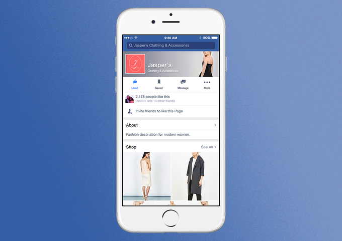 Как выглядят новые страницы компаний в Facebook . Изображение № 1.